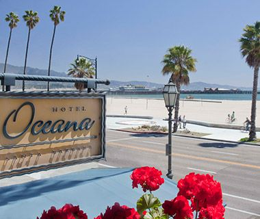 U S Beachfront Hotels Under 200 Hotel Oceana Santa Barbara Ca Oh The Places I Would Love To Go Pinterest Travel Usa And
