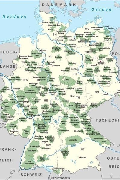 deutschlandkarte einfach 25 Karten, die dir genau erklären, wie Deutschland funktioniert