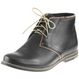 Polbuty Meskie Nik Giatoma Niccoli 10 0117 Czarne Boots Chukka Boots Shoes