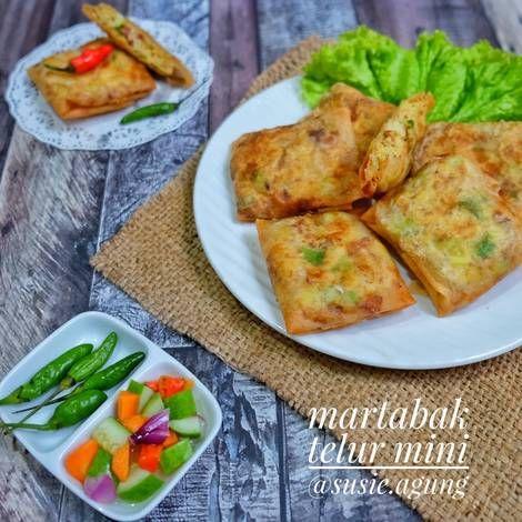 Resep Martabak Telor Mini Oleh Susi Agung Resep Makanan Dan Minuman Fotografi Makanan Resep Masakan