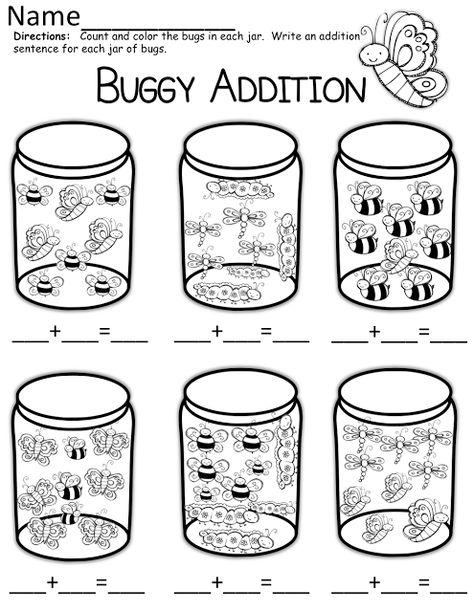 Buggy Addition math problems!