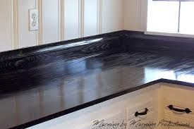 Image Result For Black Stained Wood Kitchen Countertops Diy