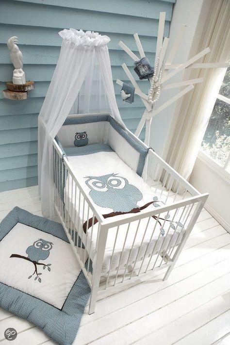 Chambre bébé bleu et gris pour bébé garçon! | Chambre bébé ...