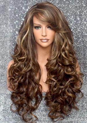 Imagenes de pelo largo y ondulado