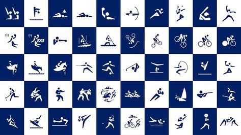 東京2020オリンピックスポーツピクトグラム - YouTube