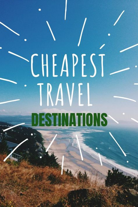 """cool Do you want to travel the world? Are you on a budget? Discover the cheapest travel destinations in the world.There are tons of exciting countries that are actually really affordable to travel medianet_width = """"600""""; medianet_height = """"120""""; medianet_crid = """"618016486""""; ... #Cheapest, #Destinations, #In, #The, #Travel, #World"""
