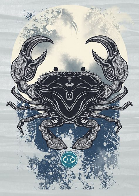 AstroSpirit / Cancer ♋ / Water / The Crab / Moonchild