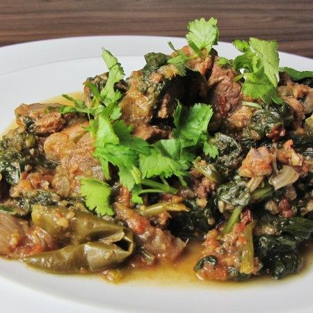 Lamb Saag Lamb And Spinach Curry