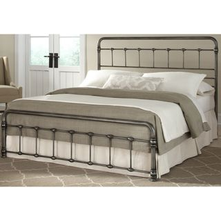 TRIBECCA HOME Giselle Antique Graceful Dark Bronze Victorian Iron Bed - 15123764 - Overstock.com Shopping - Great Deals on Tribecca Home Beds