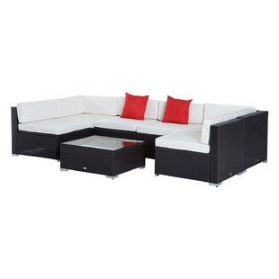 Outer Banks 4 Piece Sunbrella Sofa Set With Cushions Outdoor