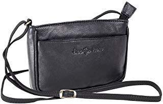 Abendtasche Fashion Damentasche Umhängetasche Jennifer Jones City Tasche Schwarz