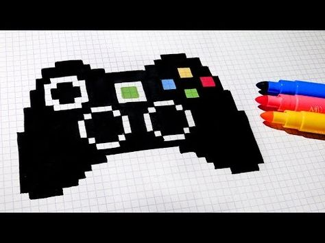 Handmade Pixel Art How To Draw Ferrari Logo Pixelart