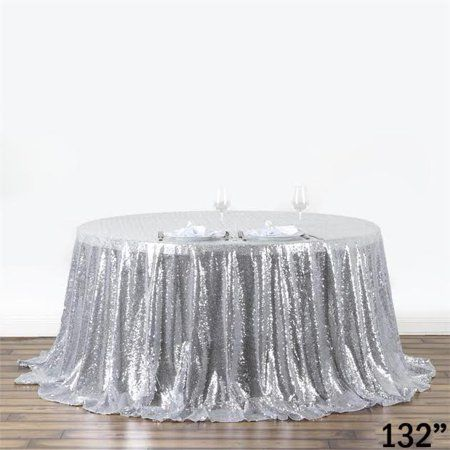Party Occasions Sequin Tablecloth Round Tablecloth Wedding
