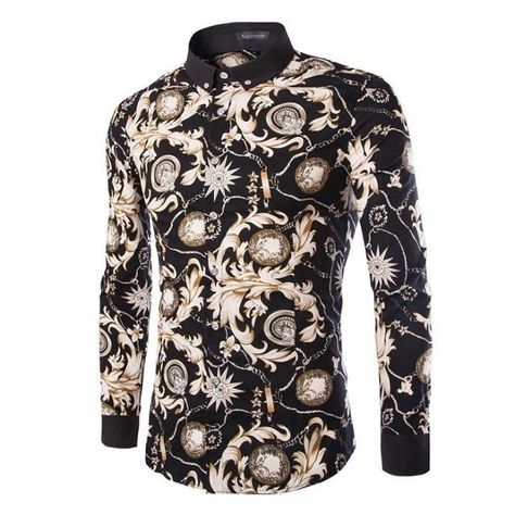 Re introducing the Yakuza Floral Casual Dress Shirt, $45