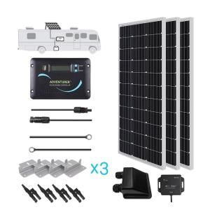 300 Watt 12 Volt Monocrystalline Solar Rv Kit For Off Grid Solar System Off Grid Solar Best Solar Panels Solar Technology