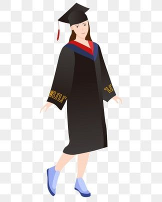 A College Student Wearing A Bachelor S Gown Student Clipart College Student Graduation Png Transparent Clipart Image And Psd File For Free Download Graduation Suits Student Clipart Bachelor S
