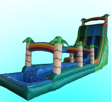 Pin On Inflatable Water Slides