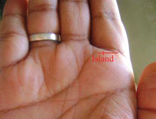 Island On Heart Line Palmistry | palmistry | Palmistry, Palm reading
