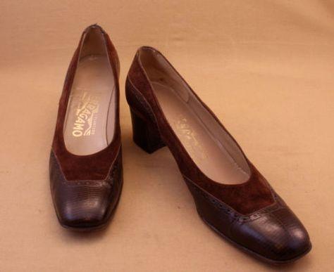 Salvatore Ferragamo women's shoes, size 7.5AAAA, available