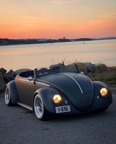 """602 Likes, 11 Comments - Someday Classics (@somedayclassics) on Instagram: """"A very special Vw bug 🙂 Love the low widescreen 💪 . 🚘 @dannikoldal 📷 @steffenkristiansen ..…"""""""