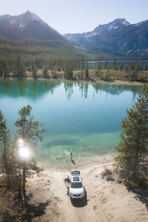 On The Road In Idaho's Sawtooth Mountains  — Blog —  Jess Wandering