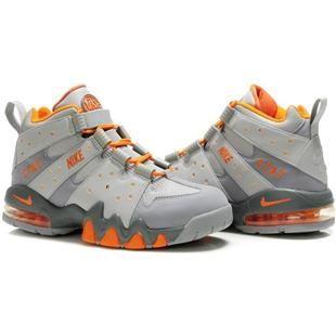 www.asneakers4u.com Charles Barkley Shoes Nike Air Max2 CB 94 Black/Orange  | charles barkley shoes | Pinterest | Black, Nike shoe and Shoe game