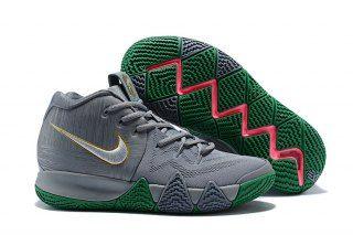 15518e7600b8 Interesting Nike Kyrie 4 Flat Silver Metallic Gold Flat Silver 943806-001 Men s  Basketball Shoes