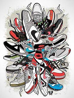 The Sneaker Art of Daymon Greulich