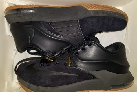 f471307c844 Nike KD VII 7 EXT Suede QS Kevin Durant Black Gum Used Size 9.5 717593-001   fashion  clothing  shoes  accessories  mensshoes  athleticshoes (ebay link)