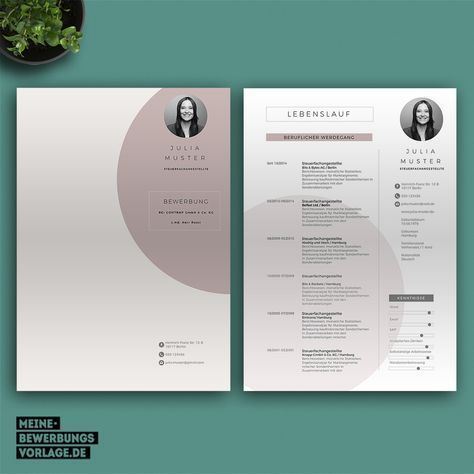 No 7 No 7 Rose Application Template With Cover Letter Curriculum Vitae Letter Of Motivation N Graphic Design Cv Graphic Design Resume Cv Design Creative