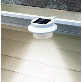 8 Pack Solar Ed Outdoor Gutter Lights