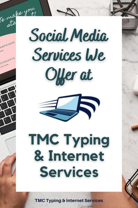 Social Media Services | TMC Typing & Internet Services