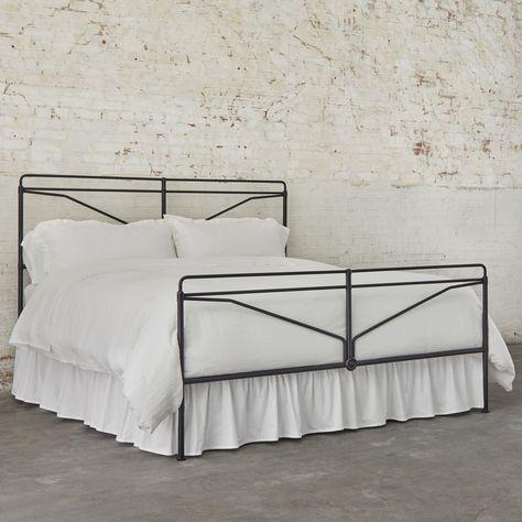 Laverty Bed Magnolia In 2020 King Bed Frame Bed Furniture