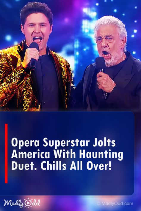 Opera Superstar Jolts America With Surprise Duet It Ll Give You Chills With Images America S Got Talent Videos Got Talent Videos America S Got Talent