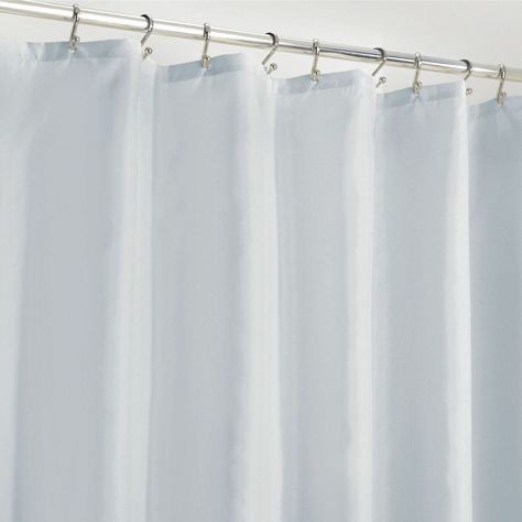 Water Repellent Fabric Shower Curtain Liner 72 X 72 In 2020