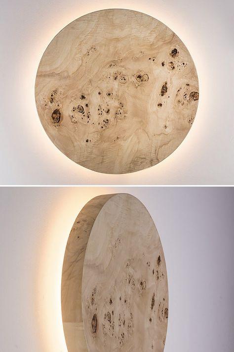 Wood Moon Light