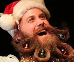 Beards like to celebrate the holidays too  Tis The Season to be