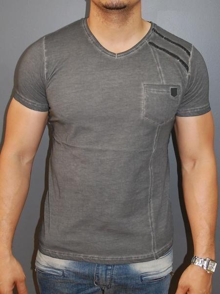 950a12ba6392 Mens T Shirts Fashion Summer T Shirt Geometric Design Turn-down Collar  Short Sleeve Cotton T-shirt Men Tee 5XL