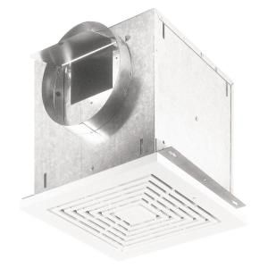 Delta Breez Integrity Series 50 Cfm Ceiling Bathroom Exhaust Fan With Dimmable Led Light Energy Star Itg50led In 2020 Dimmable Led Lights Dimmable Led Led Lights
