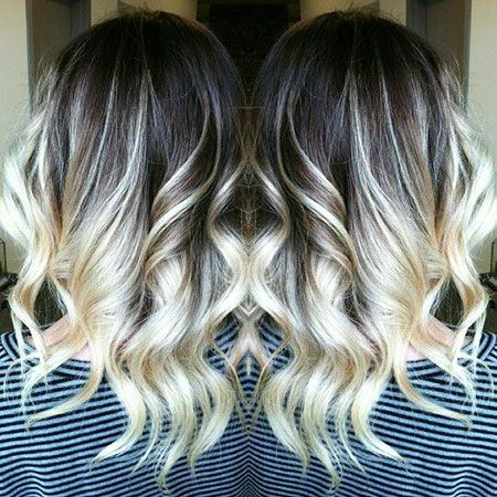 Beautiful Grey Hair Dark Roots Blonde Hair Blonde Hair Short Hair Balayage
