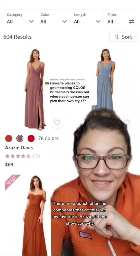 Color Crush! Choose from these colors for #fall weddings, find the color that perfectly matches your wedding. Come and visit azazie.com for 70+ colors  500+ styles in sizes 0-30.#bridesmaiddresses #weddingideas#2020wedding