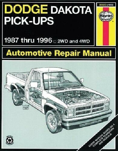 Advertisement Ebay Repair Manual S Haynes 30020 Fits 87 90 Dodge Dakota Repair Manuals Repair Repair And Maintenance