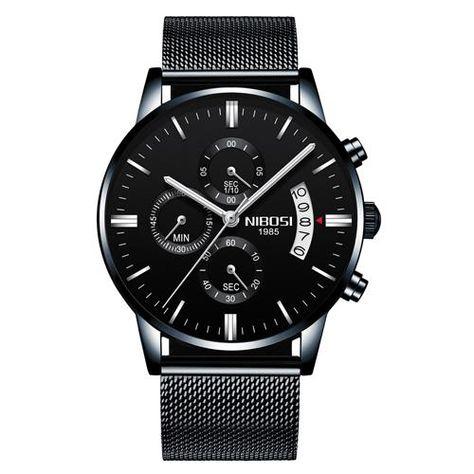 NIBOSI Relogio Masculino Men Watches 2018 Luxury Brand