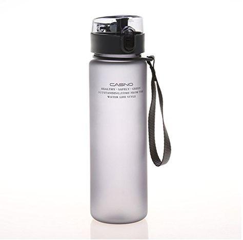 560ml Sport Water Bottle Plastic Drinkware Outdoor Leak Proof Cycling Bottles
