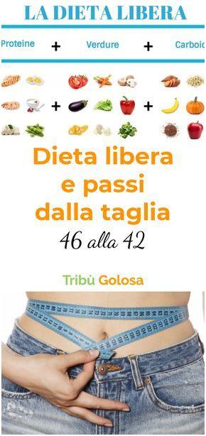 Dieta Libera E Passi Dalla Taglia 46 Alla 42 Diete Per Perdere Peso Dimagrire Dieta