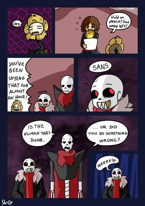 underfell comic   Undertale Amino