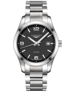 Longines Men's Swiss Automatic Conquest Classic Stainless Steel Bracelet Watch 40mm L27854566