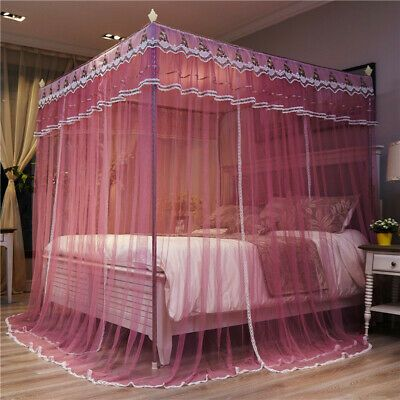 Princess Style Mosquito Net Bed Curtain Netting Canopy Newly
