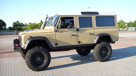Defender 110 | Defender 110 V8 8.1 liter, portal axles