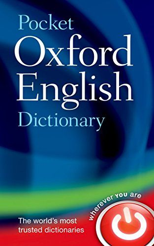 From 1 91 Pocket Oxford English Dictionary Oxford Dictionaries